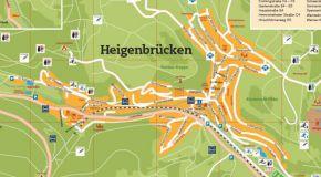Ortsplan Heigenbrücken - Jakobsthal