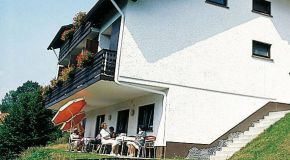 Herrliche Aussicht von Balkon oder Terrassse
