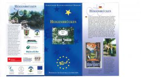 "Flyer ""Kulturweg Heigenbrücker Formation"""