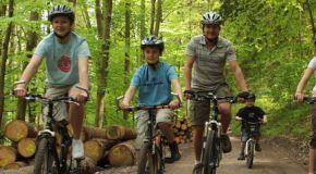 Biken im Spessartwald