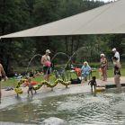 Kleinkinderbereich im Naturschwimmbad Heigenbrücken