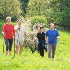 Nordic-Walking im Frühling